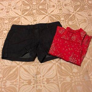 LOFT denim riviera shorts 4